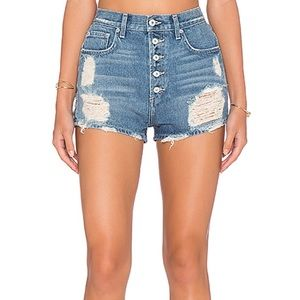 Tularosa Emma highwaisted shorts Barcelona wash 25